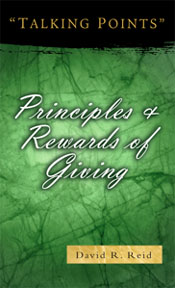 Principles and Rewards of Giving